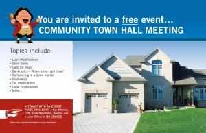 townhall pstcrd frnt 300x194 Free Seminar for Distressed Santa Monica Homeowners