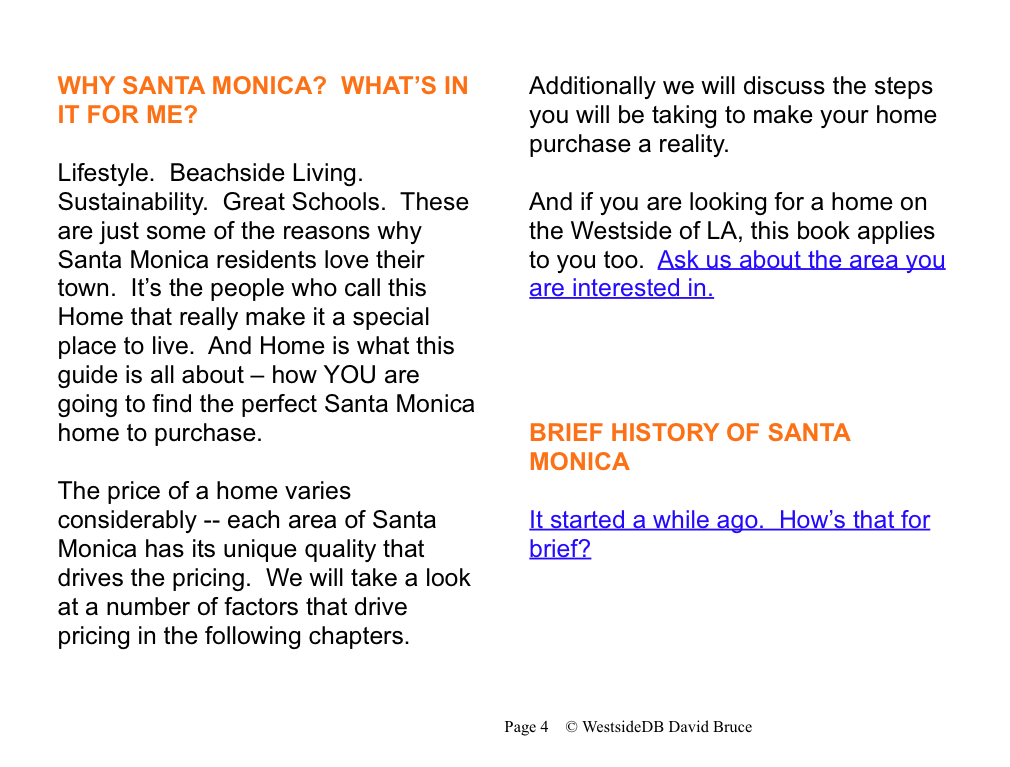 Picture 2 Cool Ebook on How to Buy a Home in Santa Monica