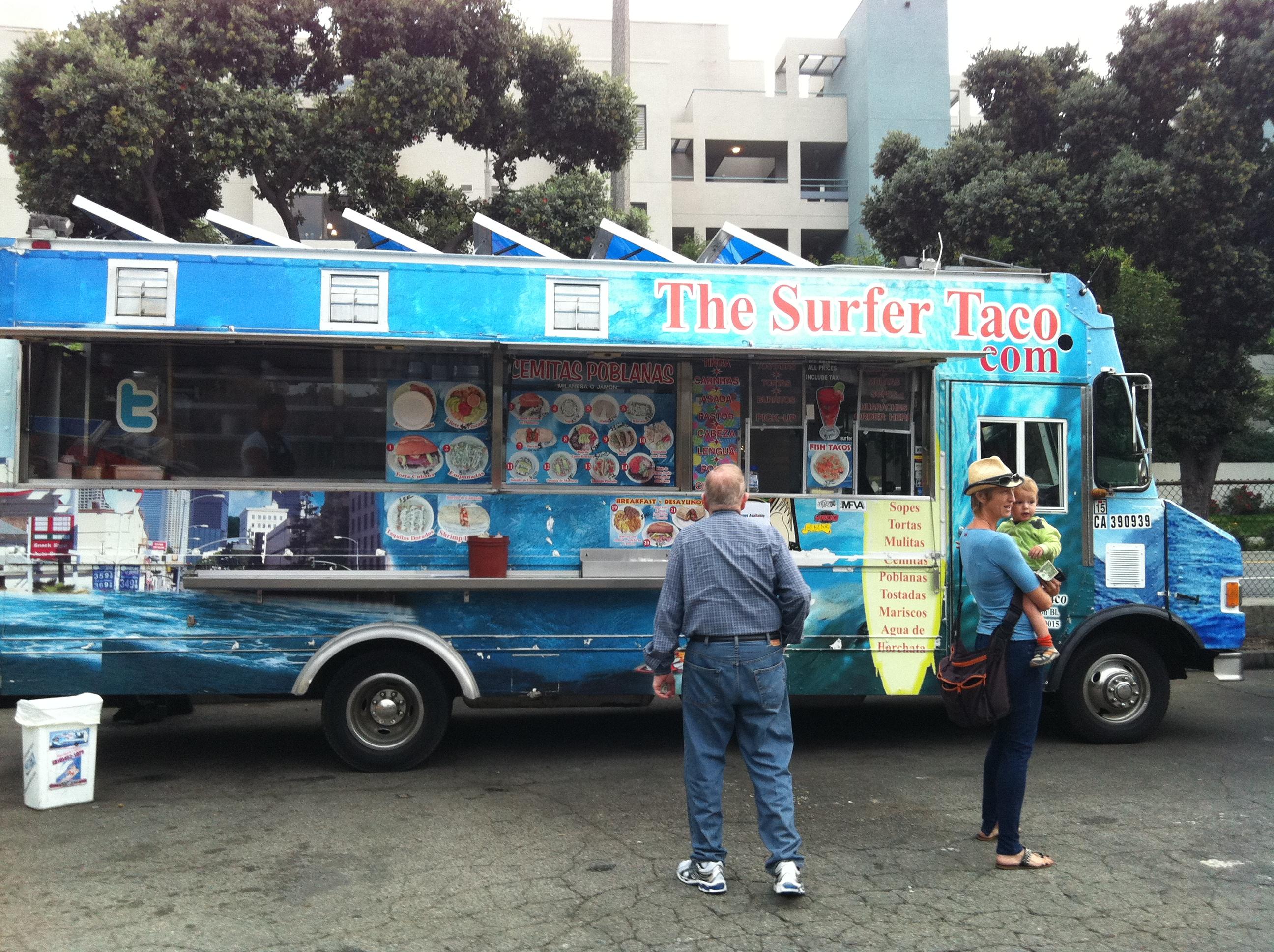 Santa Monica Main Street Tuesday Food Trucks